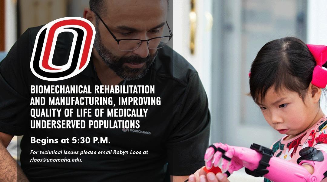 Image of Jorge Zuninga, Ph.D., working with biomechanical rehabilitation.